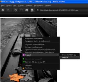 Использование дополнения от omploader для загрузки изображений.