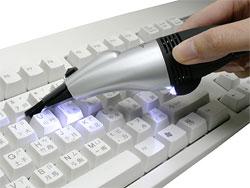 Портативный USB-пылесос.